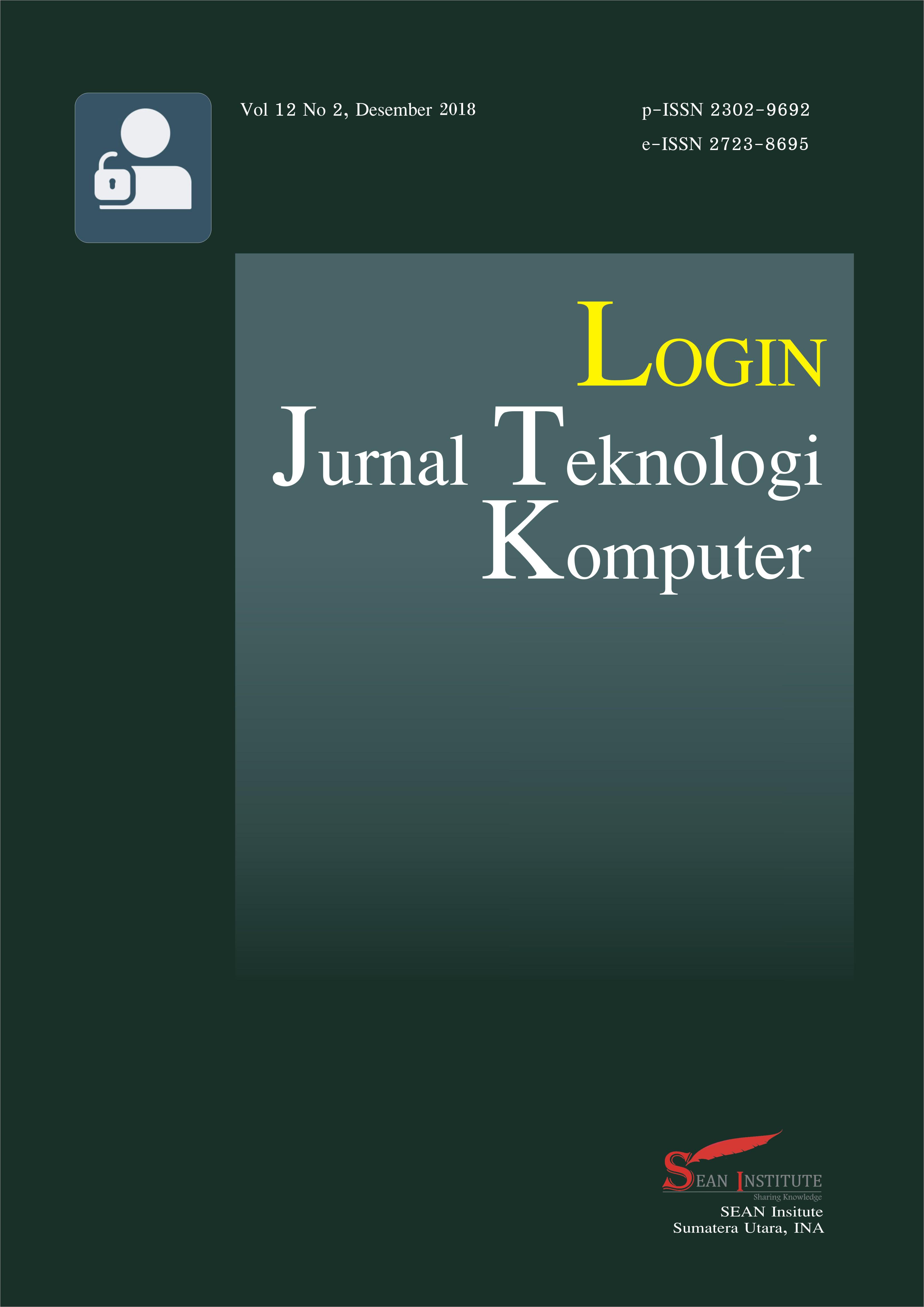 Login : Jurnal Teknologi Komputer